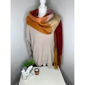 Express Tan Knit Sweater
